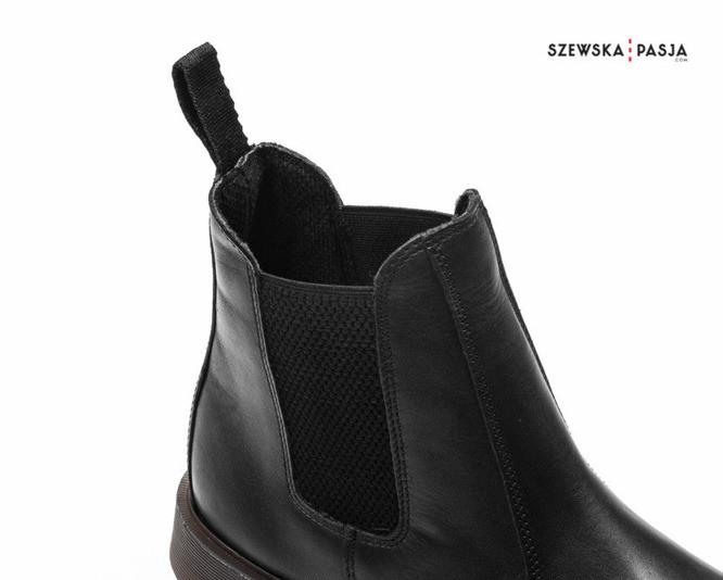 Klasická kožená kotníková obuv pánská