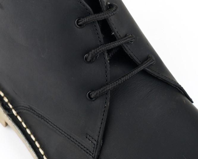 Kožené vysoký boty Chukka