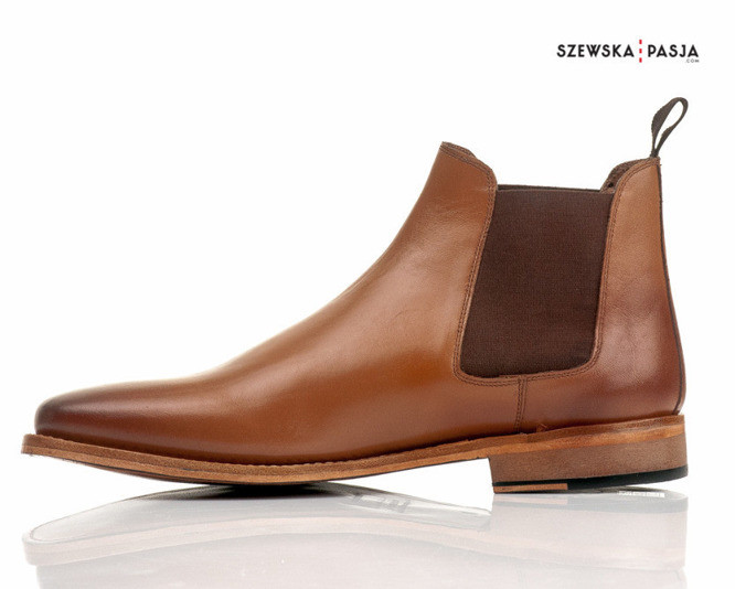 Kožená pánská obuv, stylové polobotky GOODYEAR technologie
