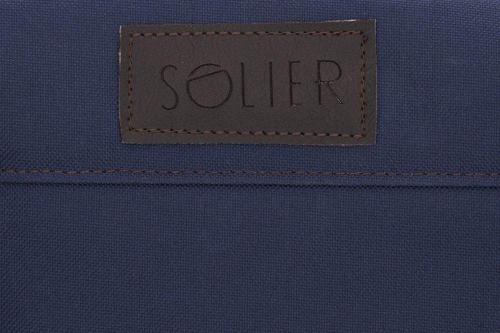 Solier pánská víkendová taška S18 modrá (navy)