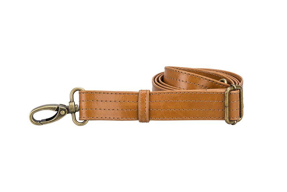 Solier pánská kožená taška SL03 camel (světle hnědá)