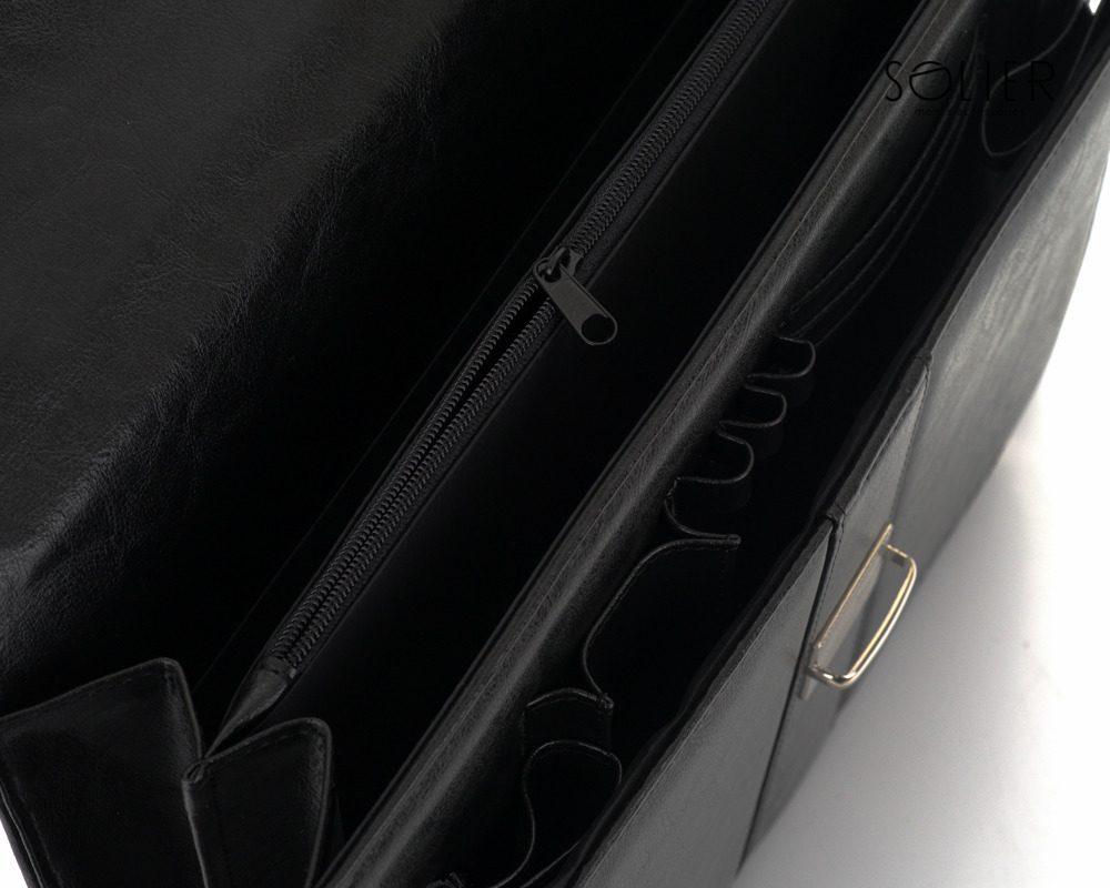 Solier pánská aktovka S21 černá
