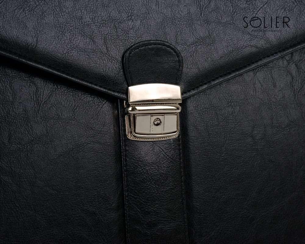 Solier pánská aktovka S20 černá