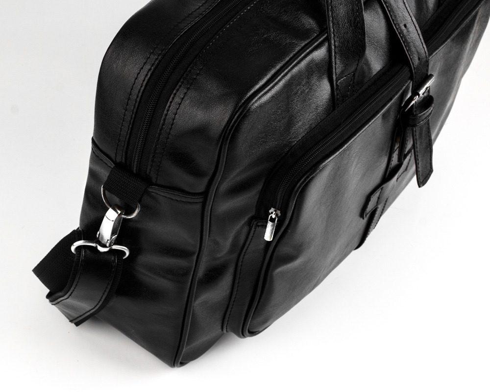 Solier pánská taška přes rameno S10 black (černá)