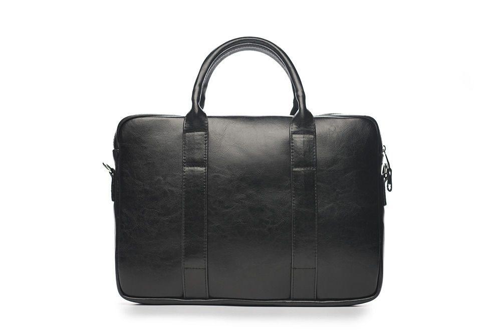 Solier kožená pánská taška SL20 black (černá)