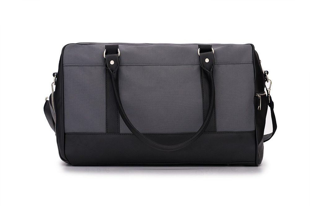 Solier pánská víkendová taška S18 šedá