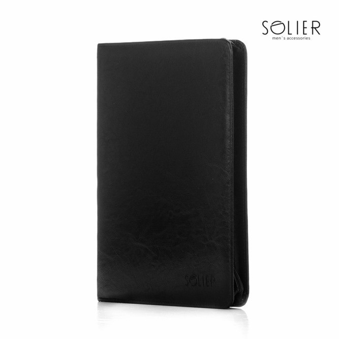 Solier složka na dokumenty ST01b černá