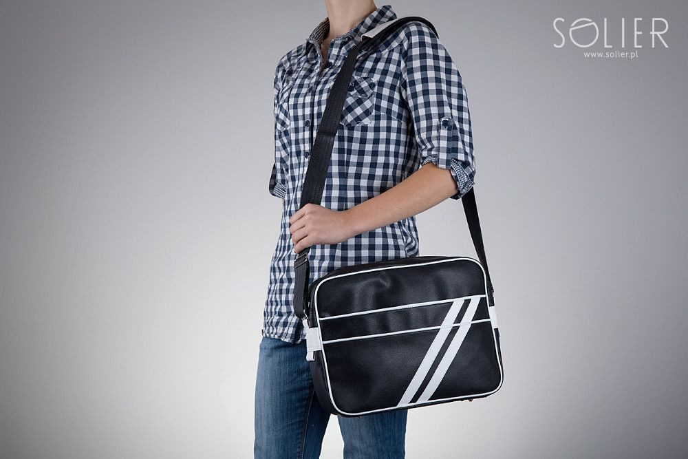 Solier taška přes rameno MS2 bílá