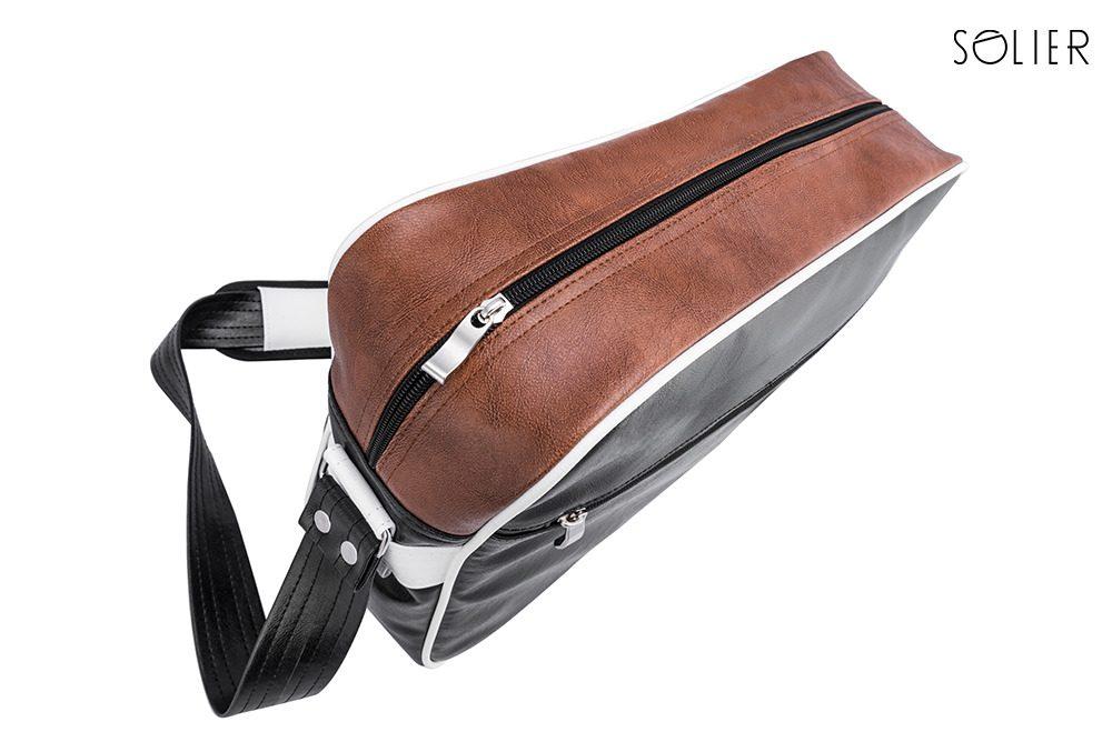 Solier taška přes rameno MS1 hnědá