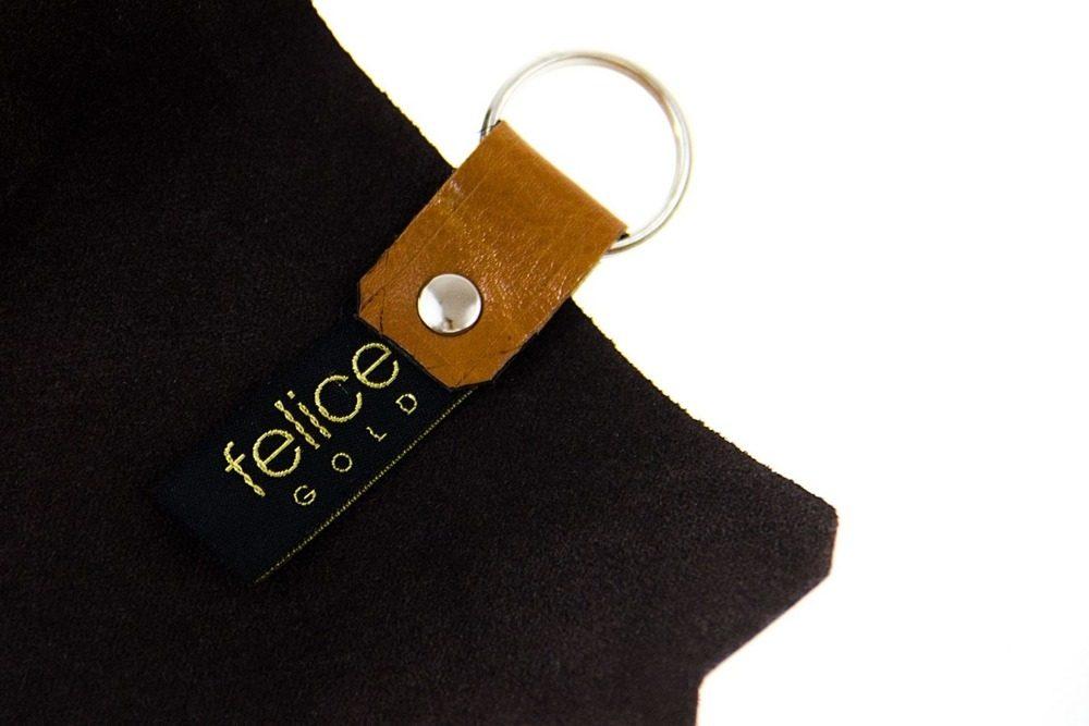 FELICE kožené obaly na klíče FA11 - CAMEL