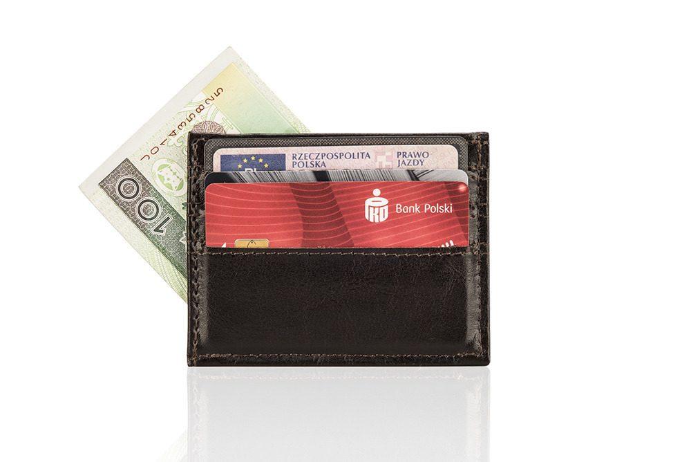 Elegantní kožená pánská peněženka značky SOLIER SA13 - BROWN