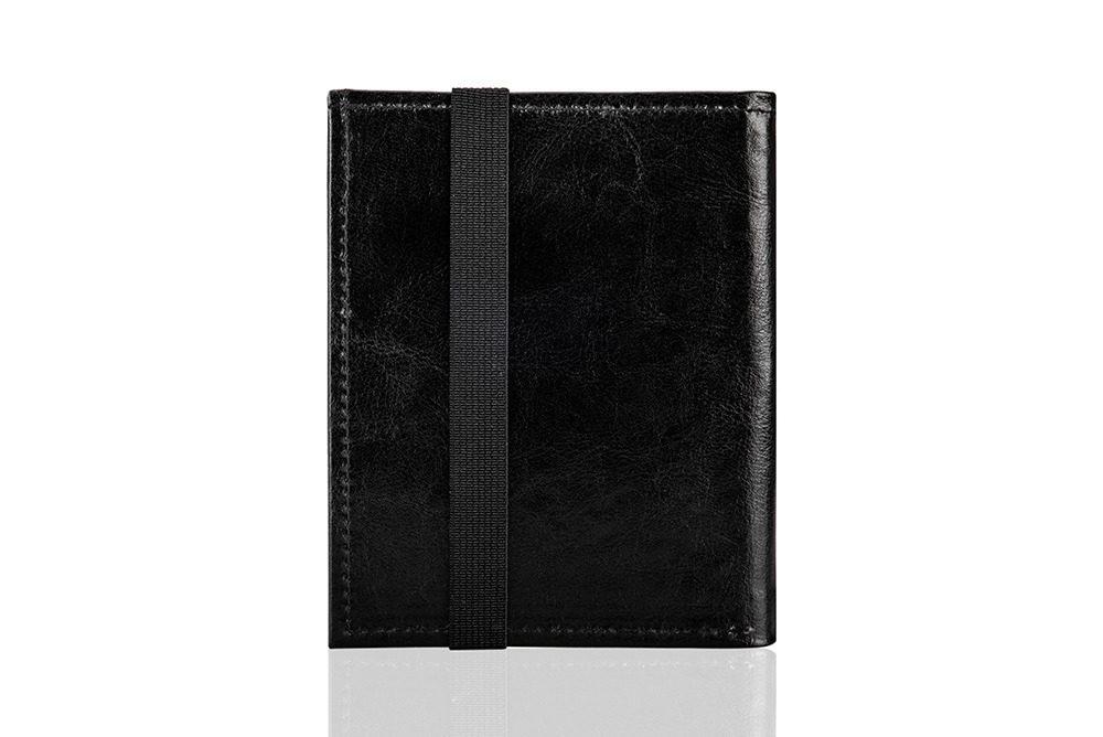 Elegantní kožená pánská peněženka značky SOLIER SW07 - BLACK