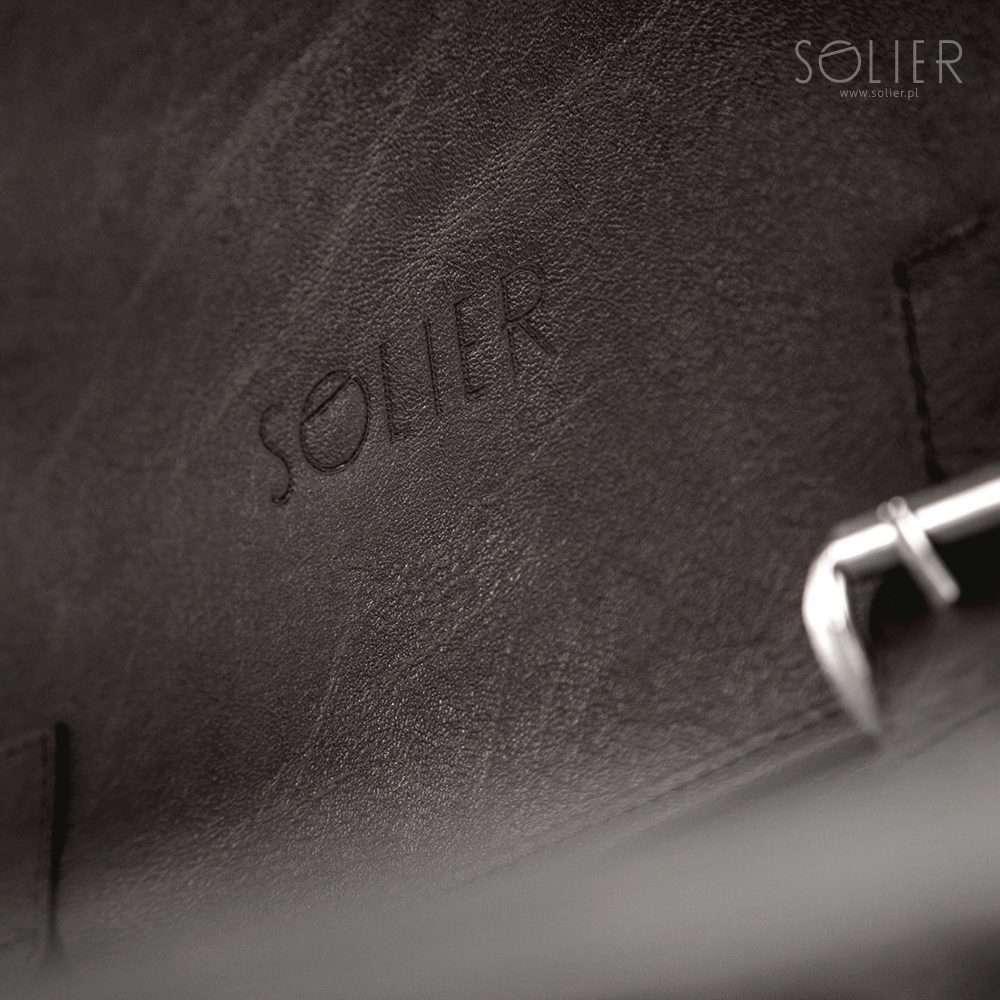 Solier taška na notebook S12 brown (hnědá)