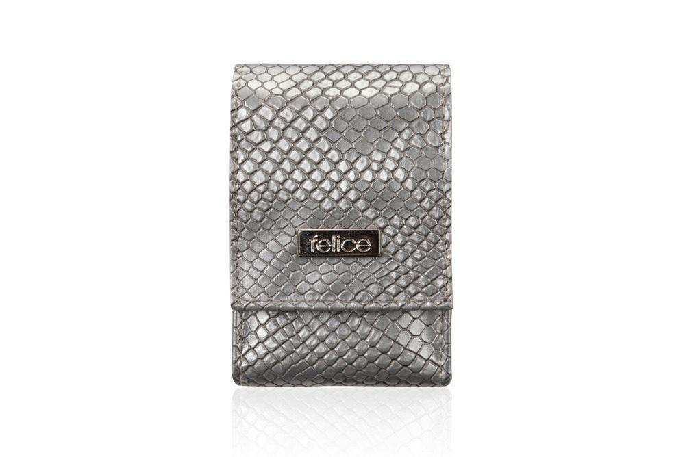 FELICE pouzdro na krabičky od cigaret FA14 standard - SILVER