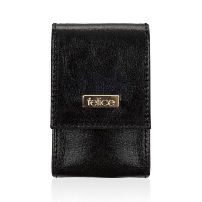 FELICE kožené pouzdro na krabičky od cigaret FA14 SLIM - BLACK
