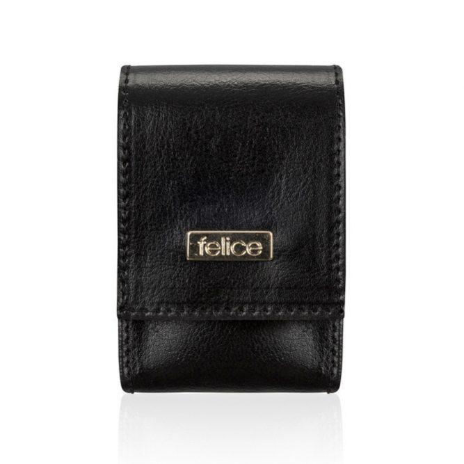 FELICE kožené pouzdro na krabičky od cigaret FA14 standard - BLACK