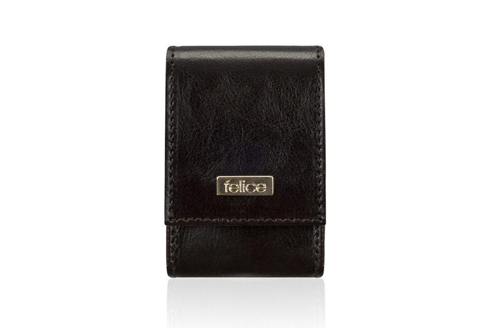 FELICE kožené pouzdro na krabičky od cigaret FA14 standard - DARK BROWN