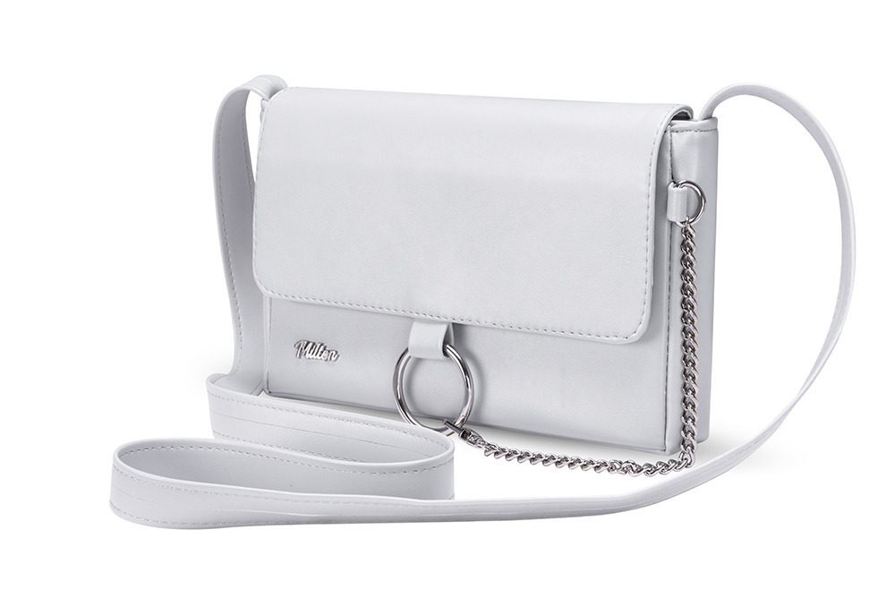 DÁMSKÁ CROSSBODY KABELKA MILTON ML06 - LIGHT GREY