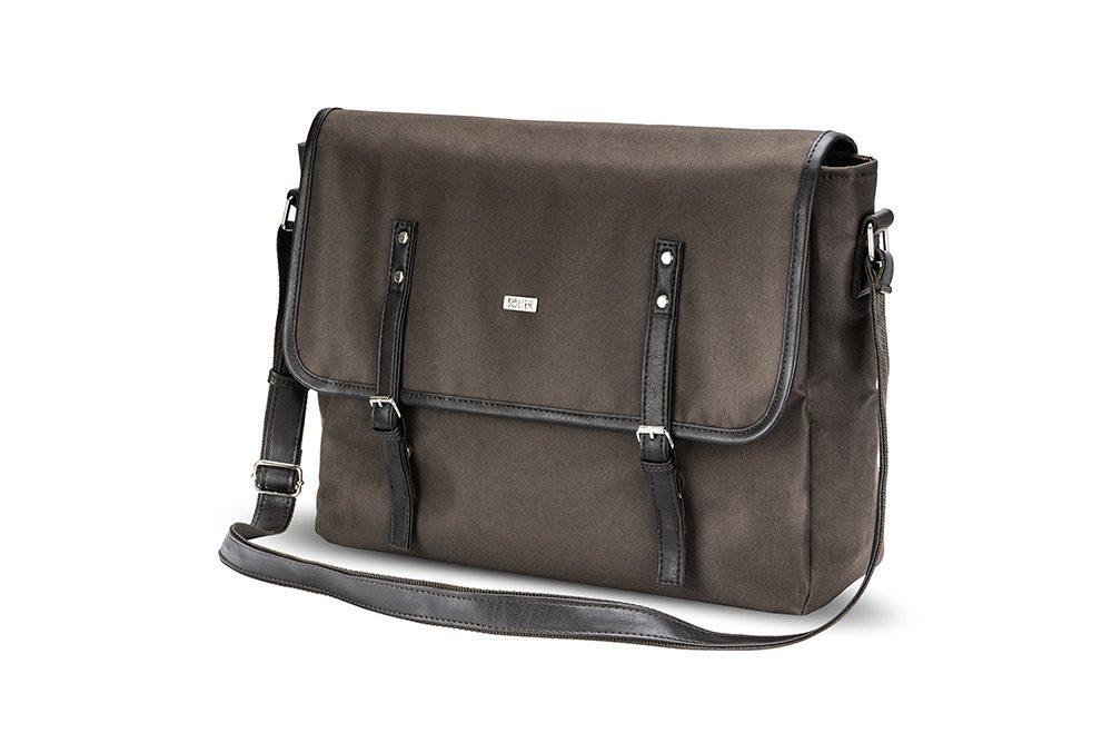 Solier taška přes rameno S17 brown (hnědá)