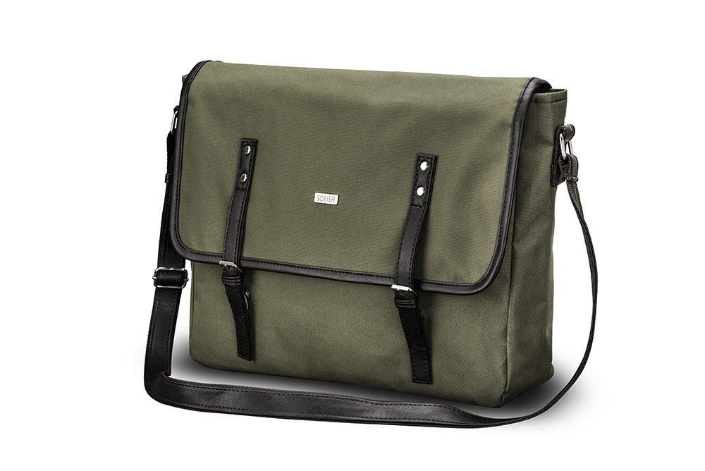 Solier taška přes rameno S17 green (zelená)