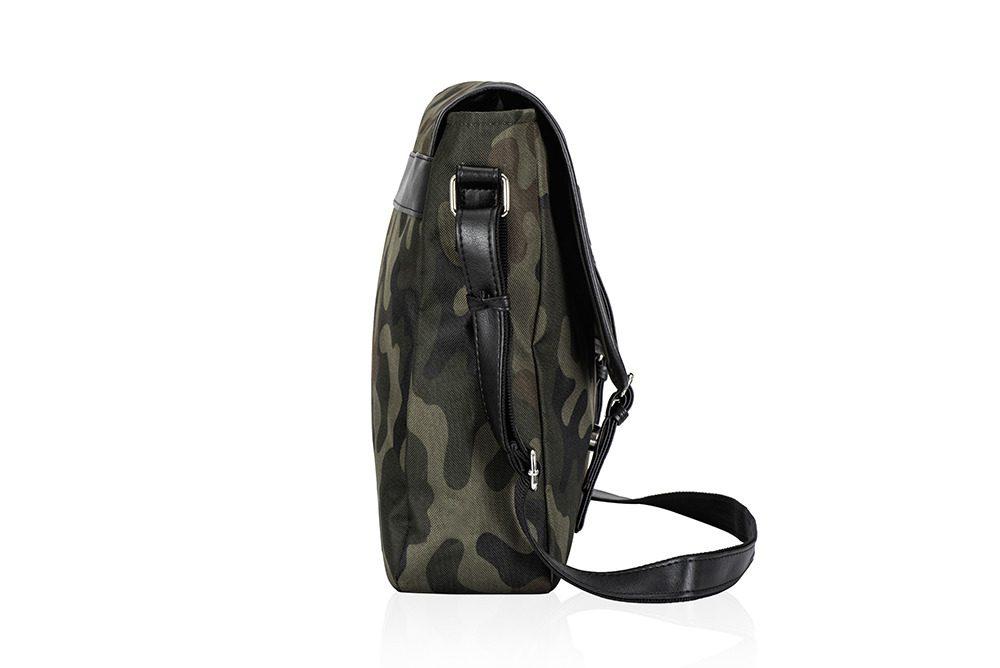 Solier taška přes rameno S17 camouglage (maskáčová)