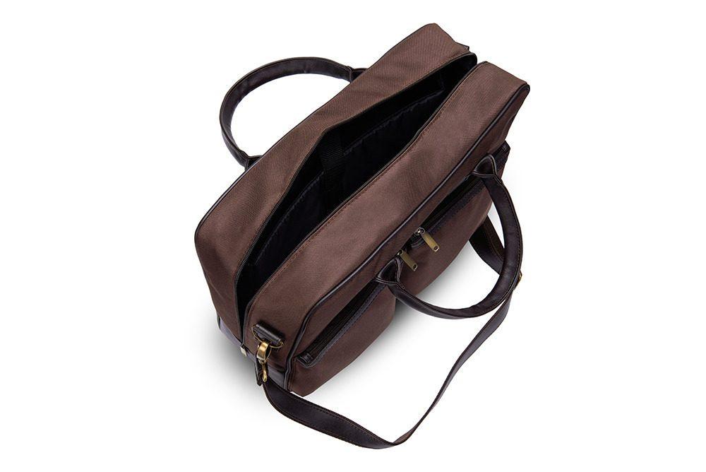 Solier taška na notebook S23 brown (hnědá)