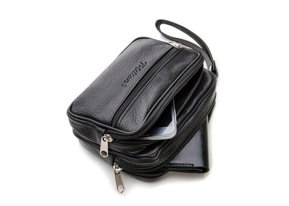Pánská taška do ruky milton ml22 - black