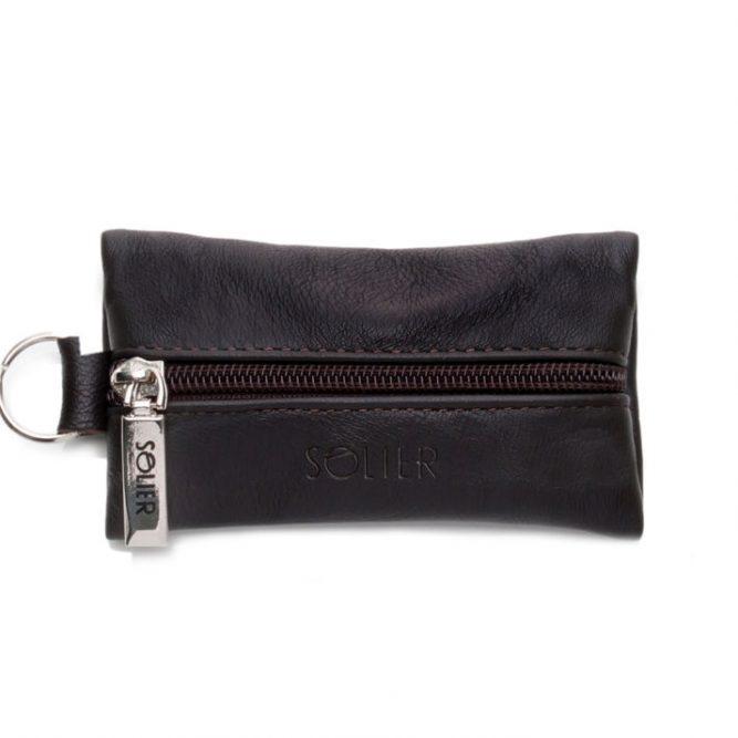 Kožené pouzdro na klíče SA18 - BROWN