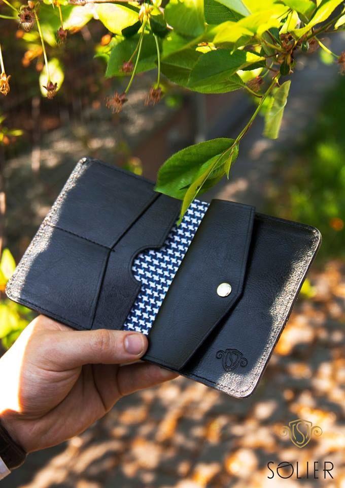 Elegantní kožená pánská peněženka značky SOLIER SW16A - LIGHT BROWN