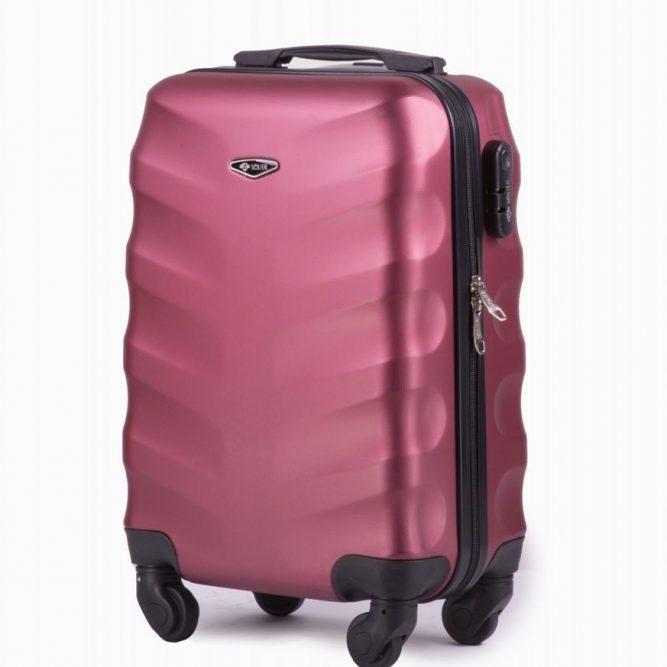 Solier cestovní kufr STL402 ABS WINE S