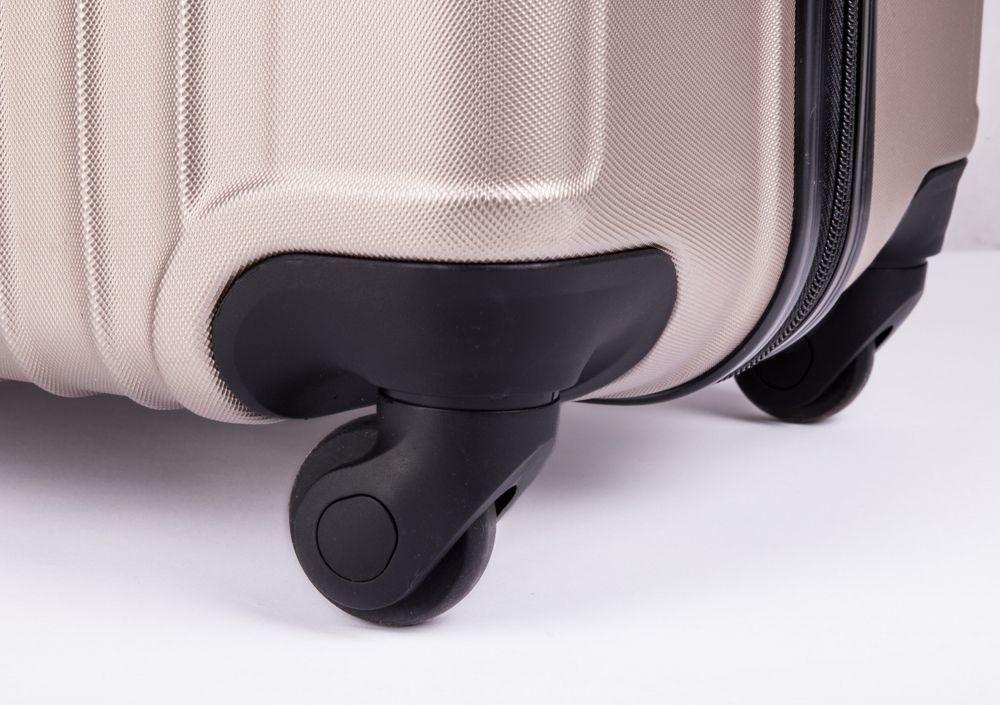 Cestovní kufr STL319 ABS CHAMPAGNE M