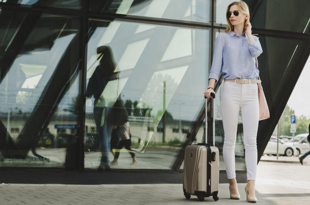 Solier cestovní kufr STL319 ABS SILVER S