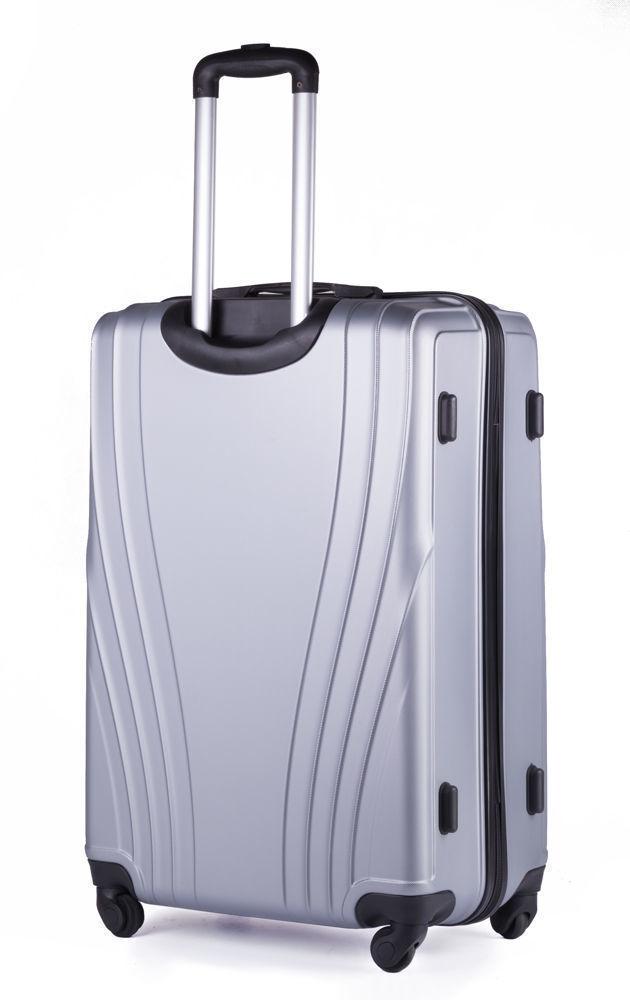 Cestovní kufr STL319 ABS SILVER L