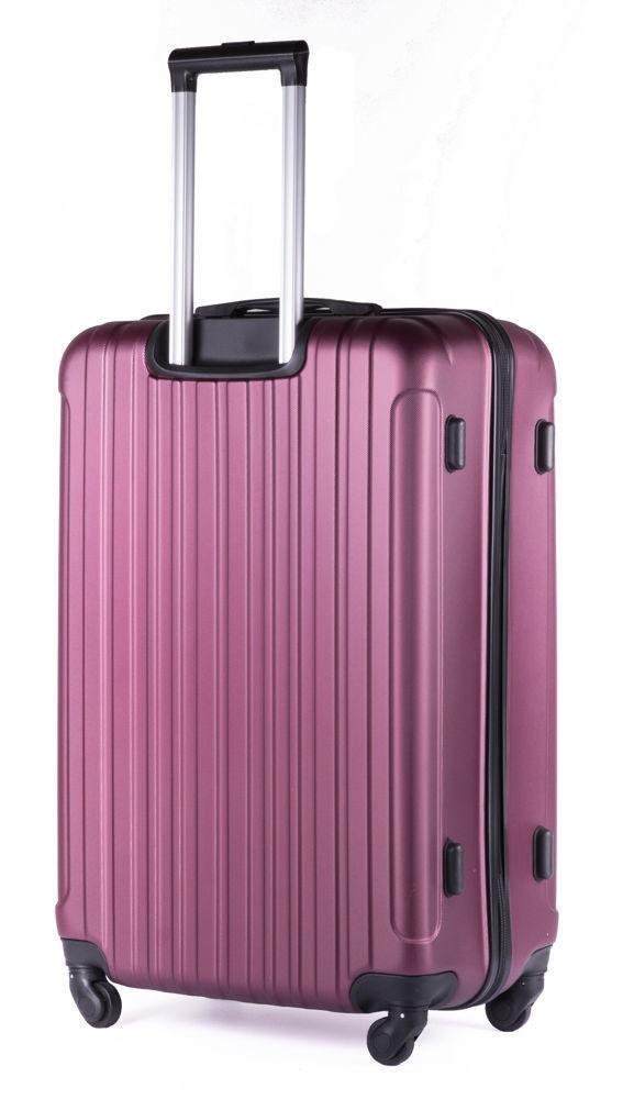 Cestovní kufr STL2011 ABS BURGUNDY L