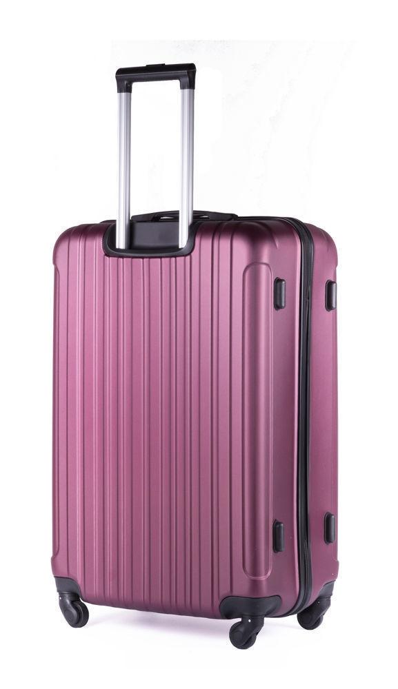 Cestovní kufr STL2011 ABS BURGUNDY M