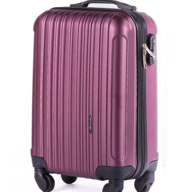 Solier cestovní kufr STL2011 ABS BURGUNDY XS