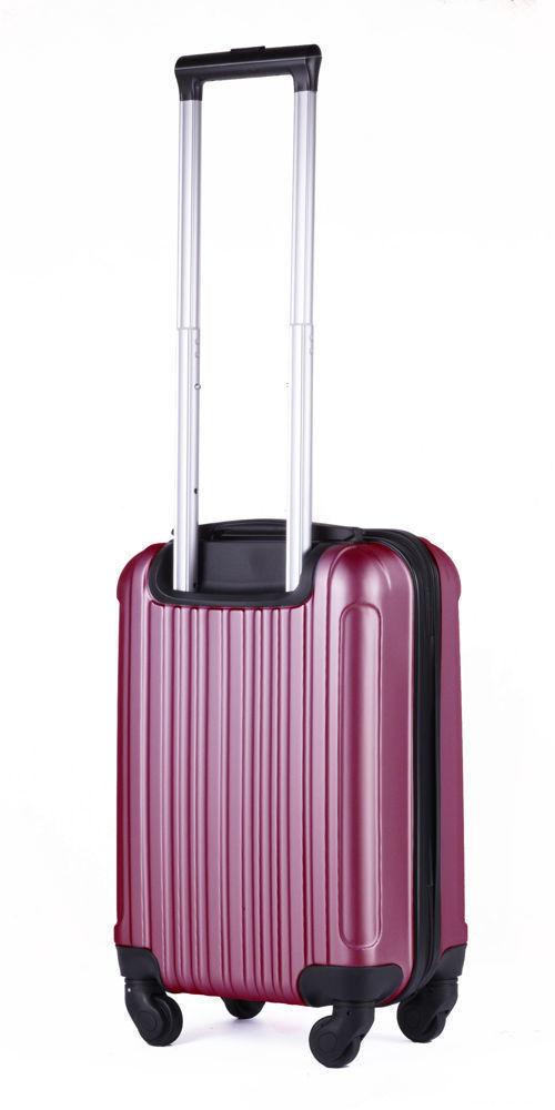 Solier cestovní kufr STL2011 ABS BURGUNDY S