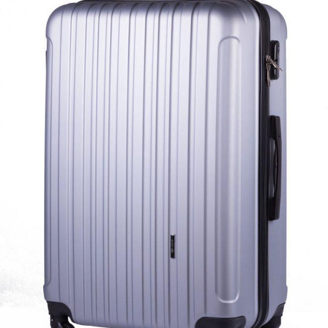 Cestovní kufr STL2011 ABS SILVER L