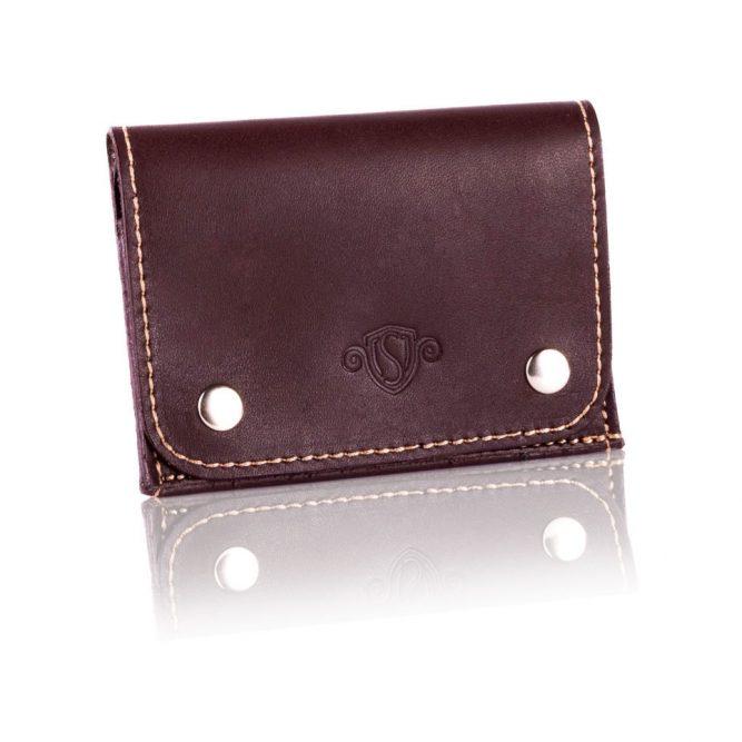 Elegantní kožená pánská peněženka značky SOLIER SW18 - BROWN VINTAGE