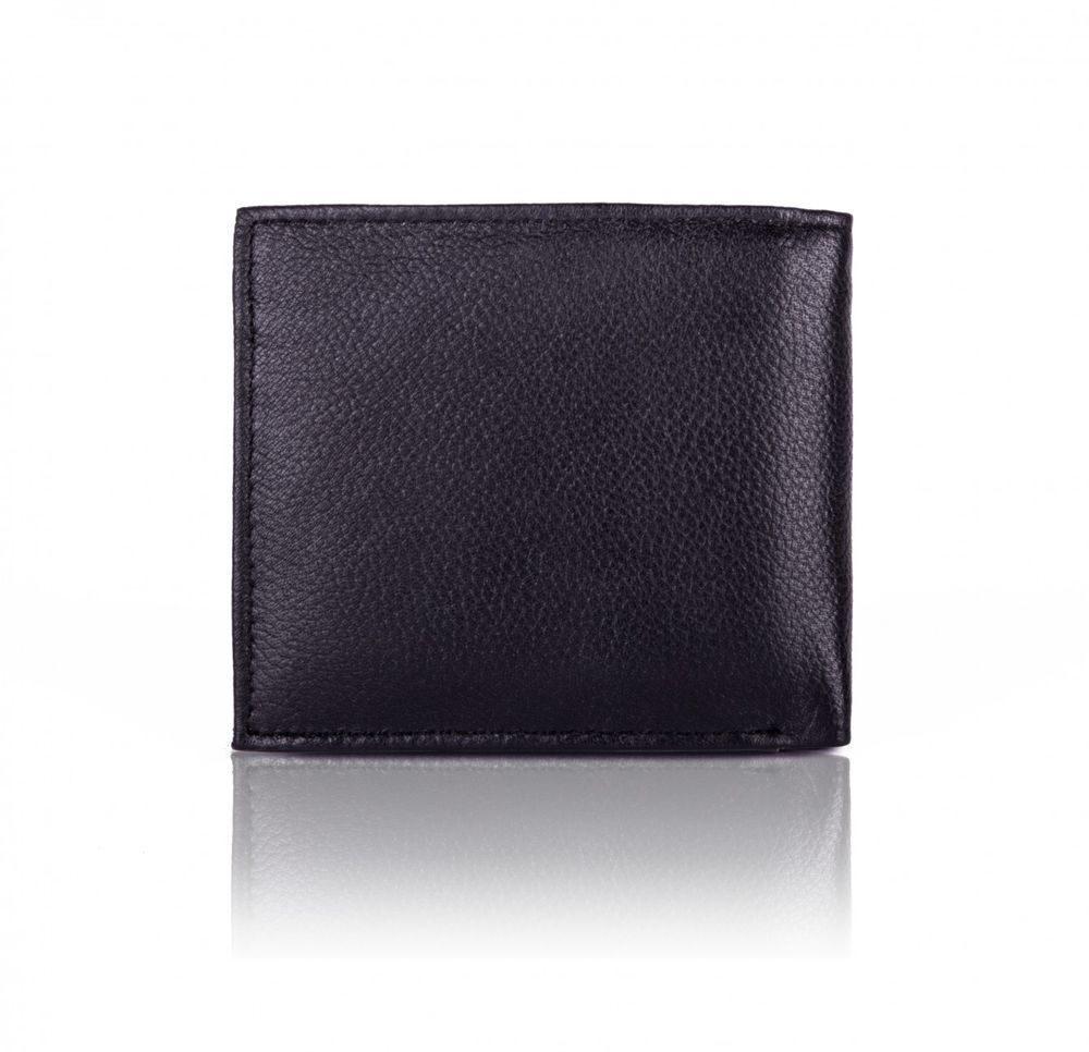 Elegantní kožená pánská peněženka značky SOLIER SW27 - BLACK