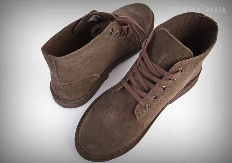 Semišové pánská obuv CHUKKA