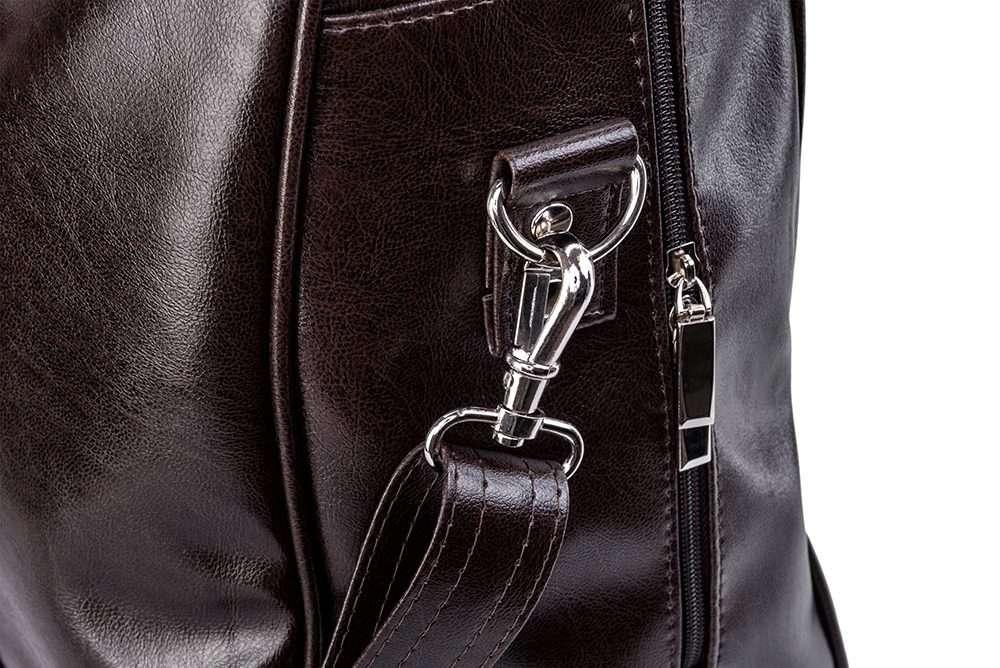 Elegantní víkendová taška SOLIER S16 - brown