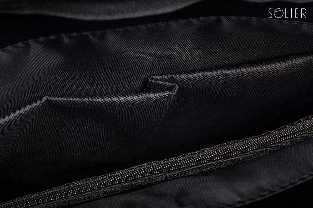 Solier pánská aktovka na notebook S14 BROWN VINTAGE