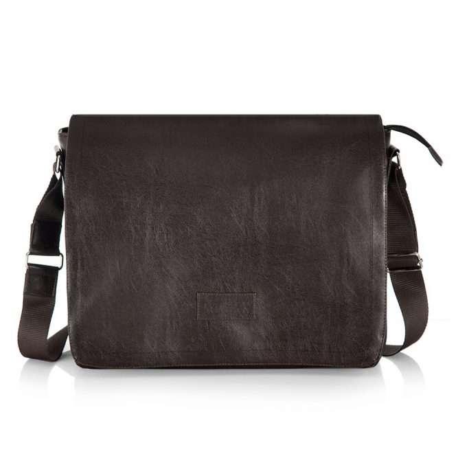 Klasická a moderní taška na rameno S11 brown (hnědá)