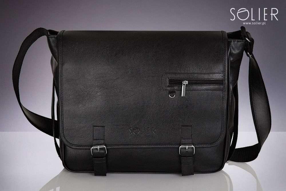 Solier taška na notebook S12 black (černá)