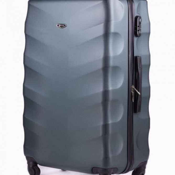 Cestovní kufr STL402 ABS DARK GREEN L