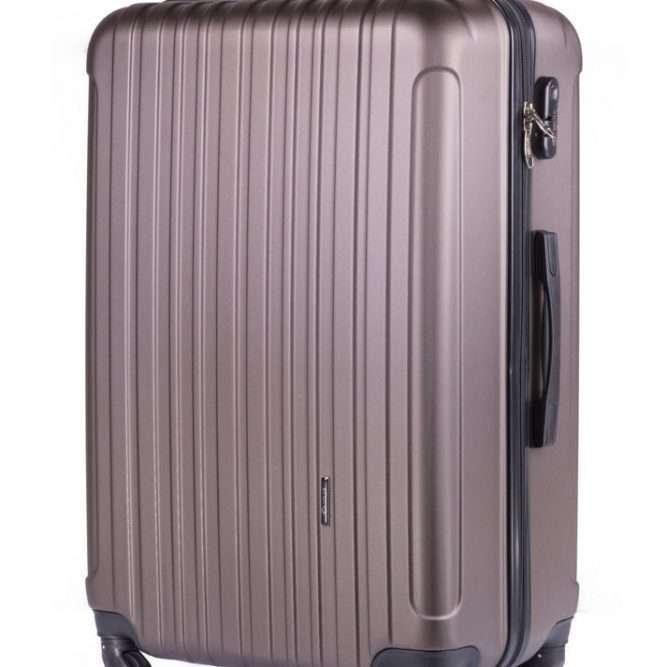 Cestovní kufr STL2011 ABS COFFEE M