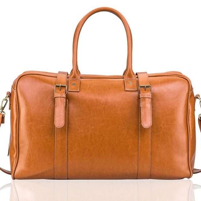 Solier pánská taška SL16 camel (světle hnědá)