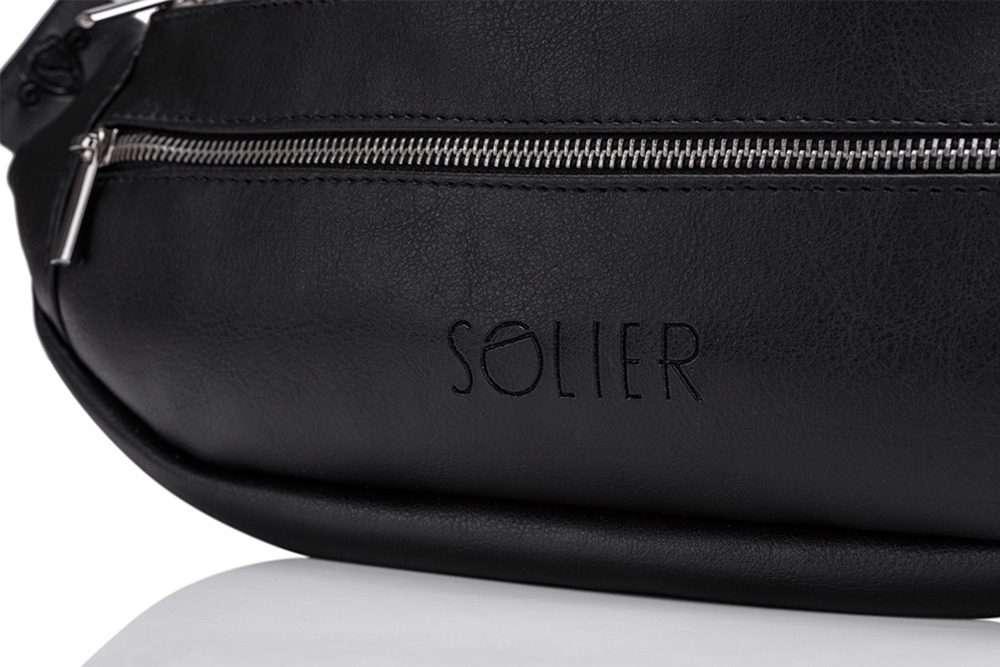 Pánská ledvinka Solier SN01 - Black