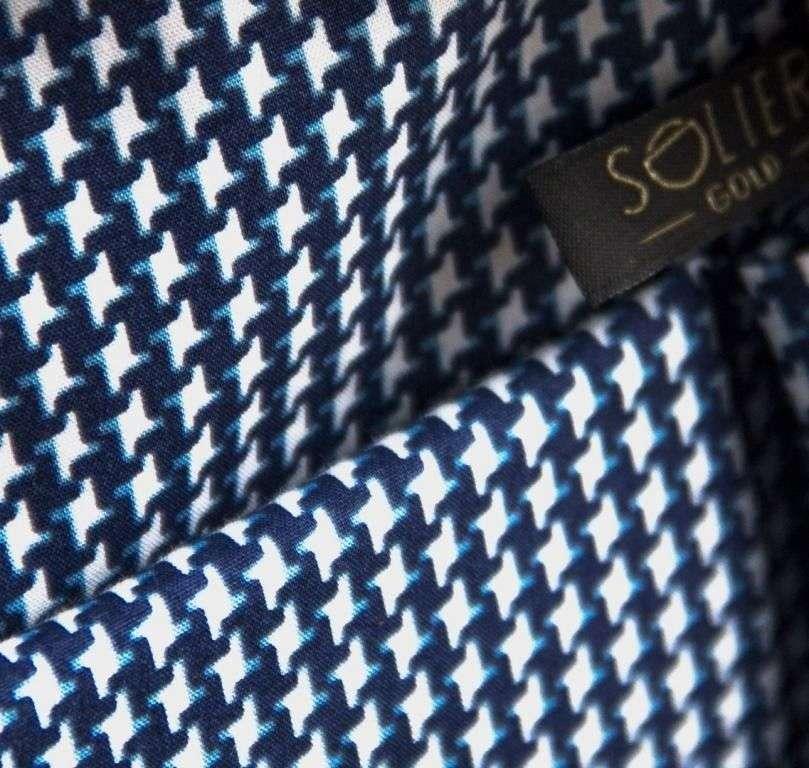 Solier konferenční kožená složka SA01 OBAN černá